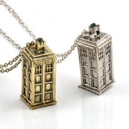 Doctor Who Tardis Pendant Necklace