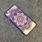 Paisley Mandala Floral Phone Case for iPhone