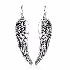 Supernatural Castiel Angel Wings Earrings