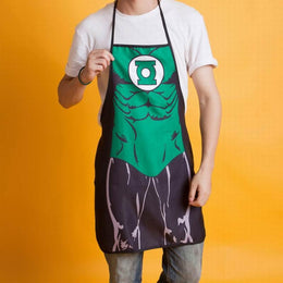 Green Lantern Funny Cooking BBQ Novelty Apron