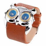 Owl Dual Time Watch