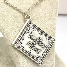 Once Upon a Time Henry's Book Necklace