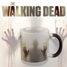 The Walking Dead Heat Sensitive Morphing  Mug