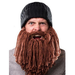 Crochet Long Beard Beanie
