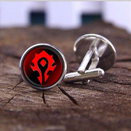 World of Warcraft WoW Horde Cufflinks