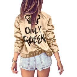 Only Queen Bomber Jacket