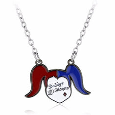 Suicide Squad Harley Quinn Daddy's Lil Monster Necklace