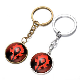 World of Warcraft WoW Horde Pendant Keychain