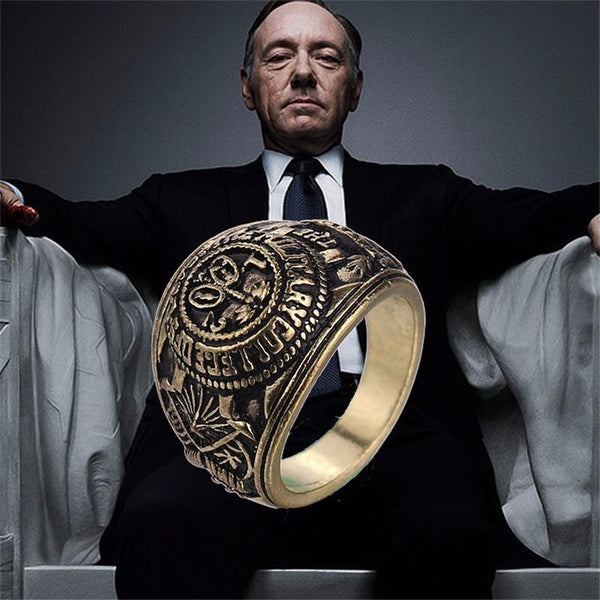 House Of Cards Frank S Ring Iwisb