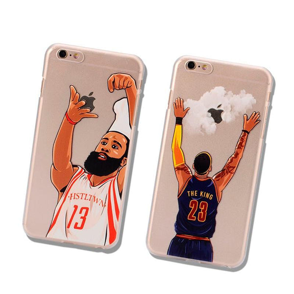 NBA Basketball Stars iPhone Case