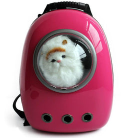 Space Capsule Bubble Pet Carrier