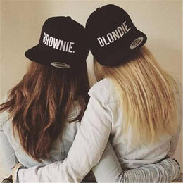 Blondie Brownie Best Friends Snapback Caps FREE