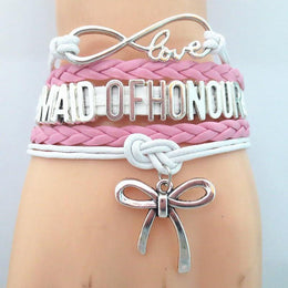 Infinity Love Maid of Honor Bracelet
