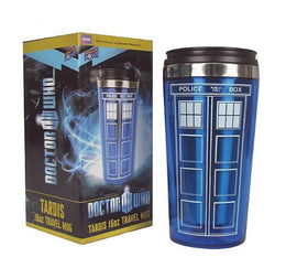Doctor Who Travel Coffee Mug