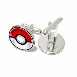 Pokemon Pokeball Cufflinks