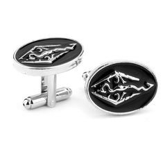 Skyrim Elder Scrolls Dragon Cufflinks