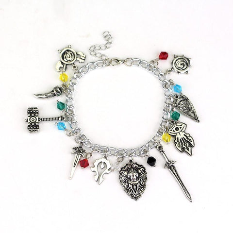 Movie Game Anime Charm Bracelet