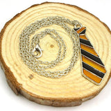 Harry Potter Hufflepuff House Tie Necklace