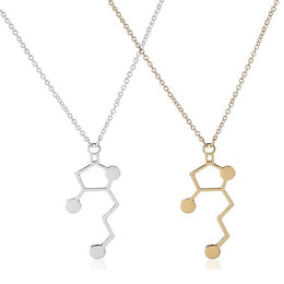 Whiskey Molecule Necklace
