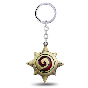 World of Warcraft Hearthstone Keychain