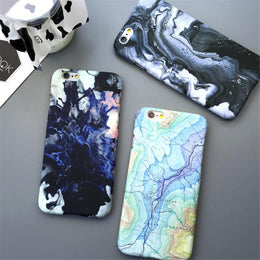 Earth Surface Marble iPhone Case