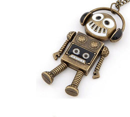 DJ Robot Necklace