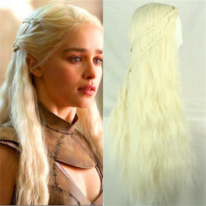 Game of Thrones Daenerys Targaryen Khaleesi Cosplay Wig