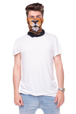 Lion Face Mask Bandana