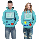 Game Over BMO Hoodie