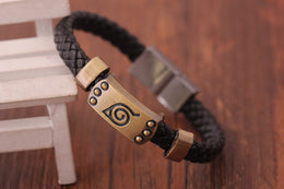 Naruto Anime Konoha Bangle Bracelet