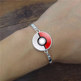 Pokemon Pokeball Charm Bracelet