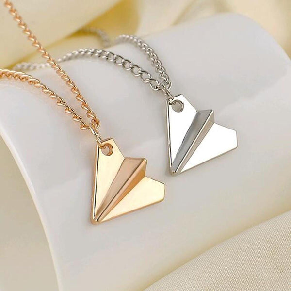 One Direction Harry Styles Paper Plane Necklace