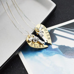 Thelma and Louise Friendship Necklaces for 2