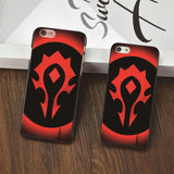 World of Warcraft Wow Horde Logo iPhone Case