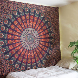 Bohemian Hippie Mandala Tapestry Wall Hanging Bedding