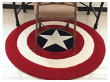 All-American Round Rug