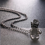 Fitness Boxing Glove Pendant Necklace