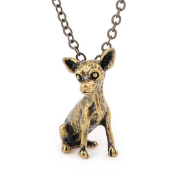 Chihuahua 3D Necklace