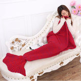 Smooth Mermaid Tail Blanket