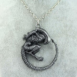 Alien Xenomorph Necklace