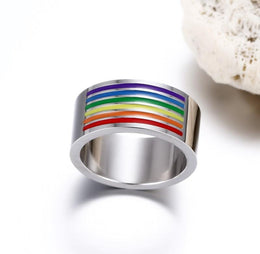 Rainbow Gay Pride Ring