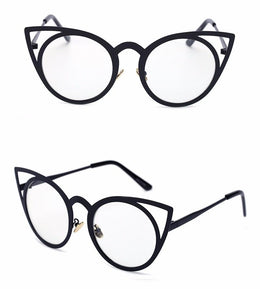 Cat Eye Clear Lens Glasses