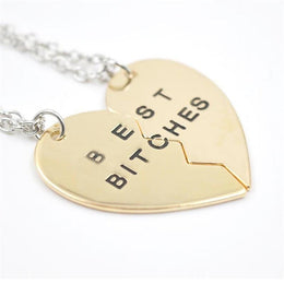 Best Bitches BFF Necklaces
