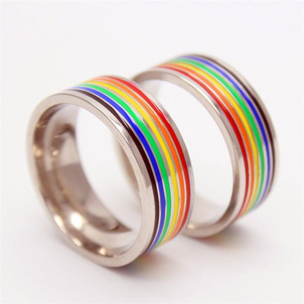rainbow ring lgbt pride miniature - photo #14