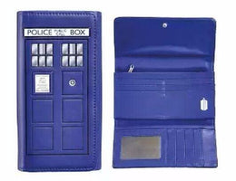Doctor Who Tardis Flap Wallet