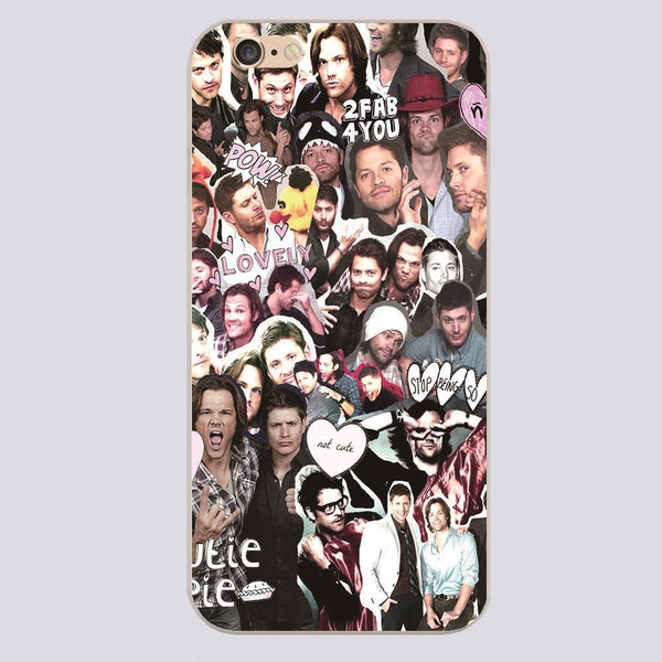 best sneakers 6805e 8d028 Supernatural Collage Phone Case for iPhone