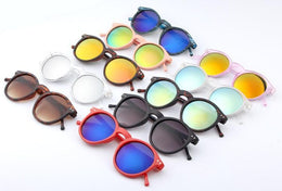 Mirrored Lens Colorful Sunglasses