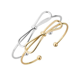 Bow Tie Cuff Bangle