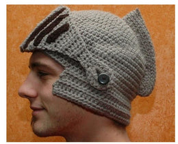 Roman Knight Ski Crochet Hat