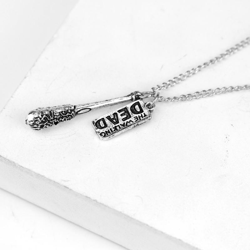 The Walking Dead Lucille The Barbed Wire Baseball Bat Necklace – IWISB